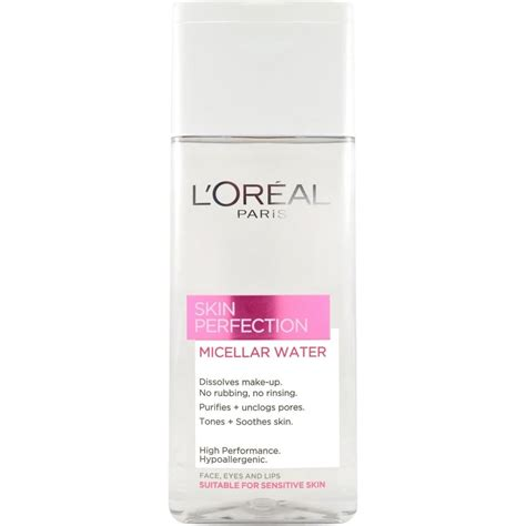 ps loreal micellar solution is now on offer in boots for 333 skin perfection micellar water 200ml bottle skin care
