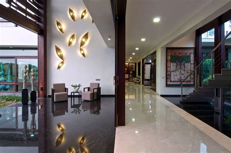 lighting design for home india hallway stairs lighting contemporary house in ahmedabad