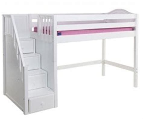 white loft bed with desk and stairs white loft bed with desk and stairs foter