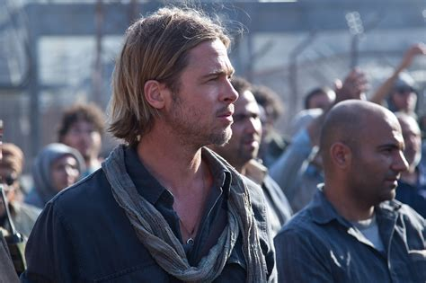 brad pitt world war z hair length world war z review marc forster s world war z stars brad