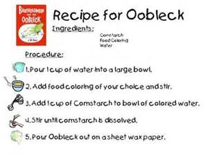 dr seuss oobleck recipe dr seuss week pinterest