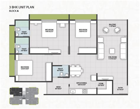 3bhk plan 2 3 bhk flats in vatral ahmedabad 2 3 bhk style