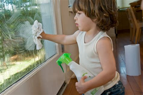 the offers tips for cleaning windows the