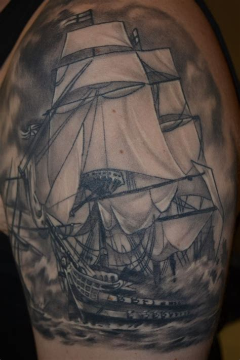 hms victory ship arm tattoo ship tattoo pinterest