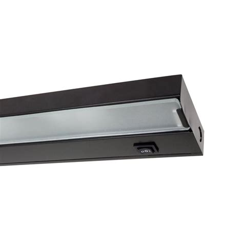 nicor led under cabinet lighting nicor slim 30 in oil rubbed bronze dimmable led under