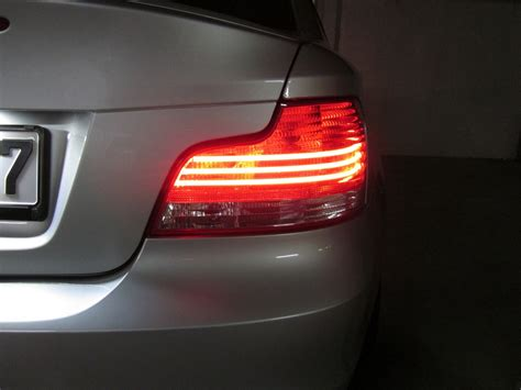 bmw e82 rear lights sold e82 darklines blacklines high