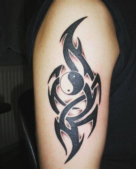 dragon tattoos for men meaning and symbols 50 mysterious yin yang designs tribal symbols