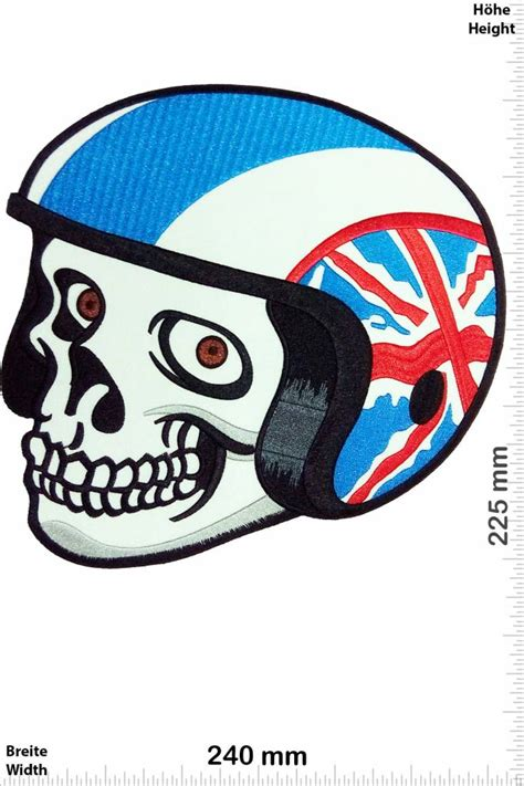 Helm Aufkleber Union Jack by Totenkopf Patch Aufn 228 Her Aufn 228 Her Shop Patch