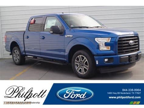 ford  xlt supercrew  lightning blue  truck  sale