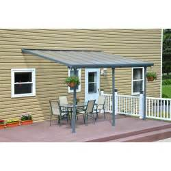 Patio Cover 10 X 10 Palram Feria 10 Ft H X 14 Ft W X 10 Ft D Patio Cover