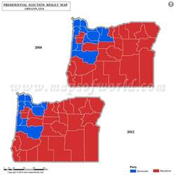 political map of oregon oregon election results 2016 map county results live