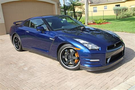 Black Edition Wheels On My Pearl Blue Gt R R35 Gt R
