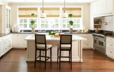 modern kitchen blinds ergonomic modern kitchen with bamboo blinds decoist