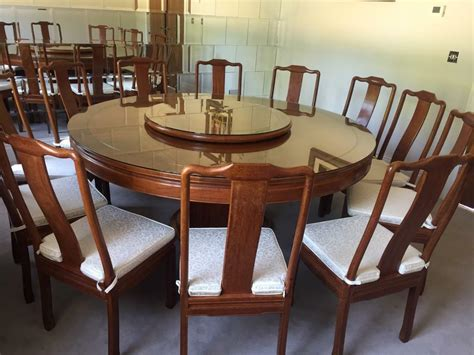 large ft  dining table   chairs  cushions