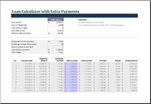 Payment Calculator Excel Template by Ms Excel Loan Calculator Templates Excel Templates