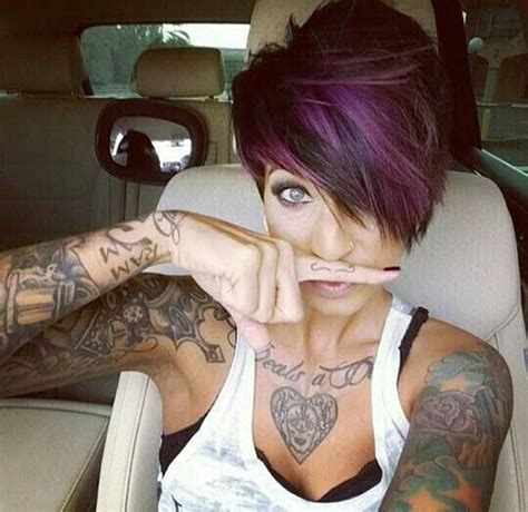 purple hairstyles for a women in her 40s 40 best long pixie hairstyles short hairstyles