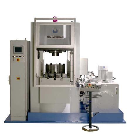 Hydraulic Lower Ram Hobbing Press