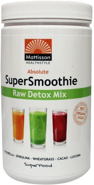 Foundational Detox Shake by Mattisson Detox Smoothie Mix 123superfoods