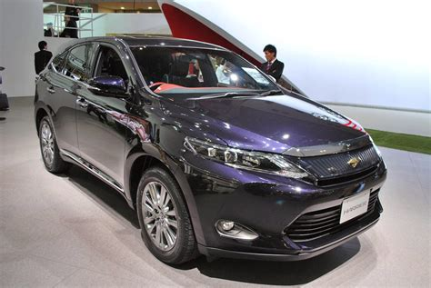 2015 toyota harrier 169 automotiveblogz 2015 toyota harrier 2013 photos