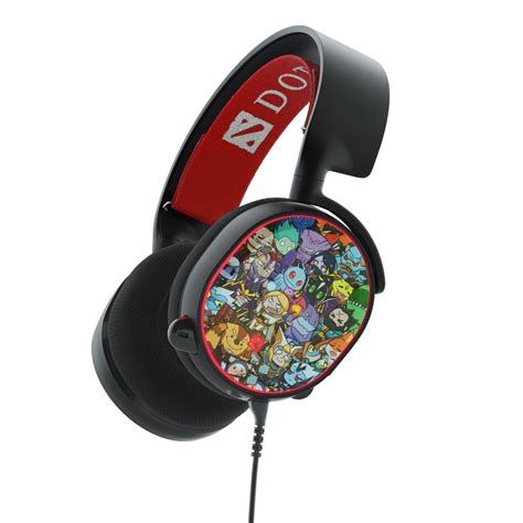 Steelseries Arctis 5 Dota 2 Limited Edition 7 1 Gaming Headset 61445 valve store steelseries arctis 5 dota 2 edition gaming headset