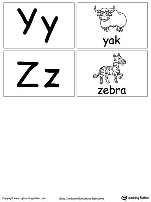 small printable alphabet flash cards small printable alphabet flash cards for letters y z