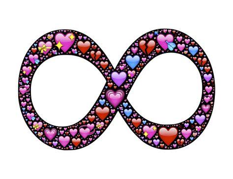where is the infinity emoji free illustration infinity infinite hearts free