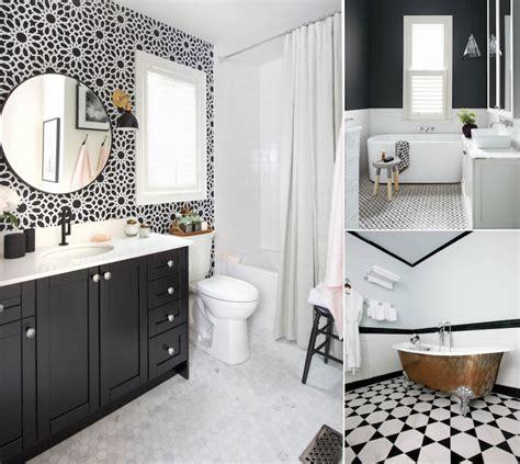 Modele Carrelage Salle De Bain mod 232 le carrelage salle de bain noir et blanc 25 d 233 cors o 249