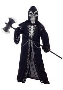 Scary Costumes For Kids Crypt Master Kids Skeleton Costume