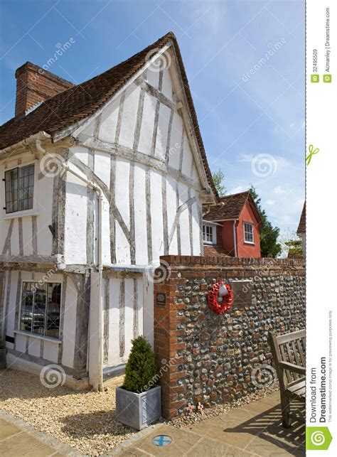 Cottages In Lavenham by Half Timbered Cottage In Lavenham Suffol Royalty
