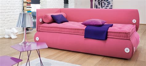 sofa beds for girls space saving design candy sofa bed by bonaldo