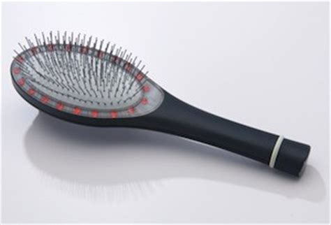 essentials light and therapy hairbrush essentials led 1000 light therapy
