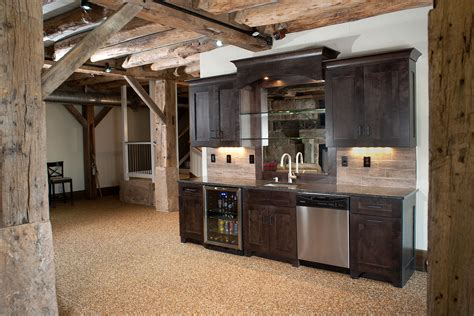 Basement Bar Cabinet Ideas Mullet Cabinet Timber Frame Basement Bar