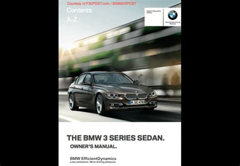 Bmw 1 Series E87 Owners Manual Pdf by Bmw F30 3 Series Owners Manual For Pdf