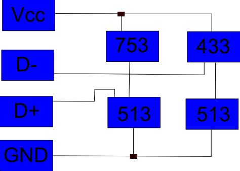 usb charging resistor values charger why are these usb data lines conned to pull up resistors electrical engineering