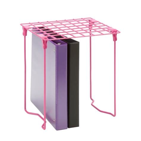 honey can do excessory locker shelf pink walmart