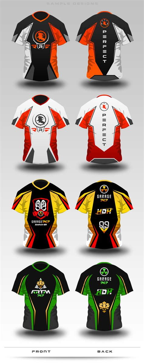 design jersey psd gaming jersey mock up by superpencil graphicriver