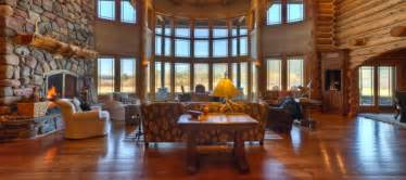 Beautiful Log Home Interiors America S Finest Log Home Estate In Whitefish Montana