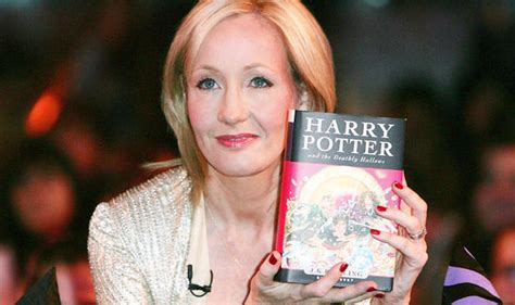 j k rowling on harry potter harry potter jk rowling releases her unseen early