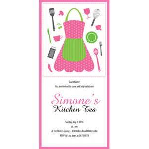 Kitchen Tea Invites Ideas by Kitchen Tea Invitations Platinum Invites