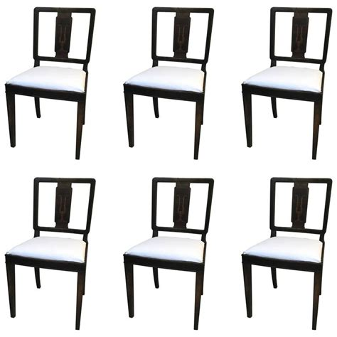 surprising art deco dining room chairs 86 for gray dining nice set of six swedish art deco chairs for svenska