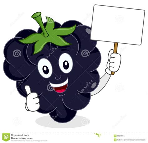 imagenes animadas para blackberry happy blackberry or mulberry with banner stock vector