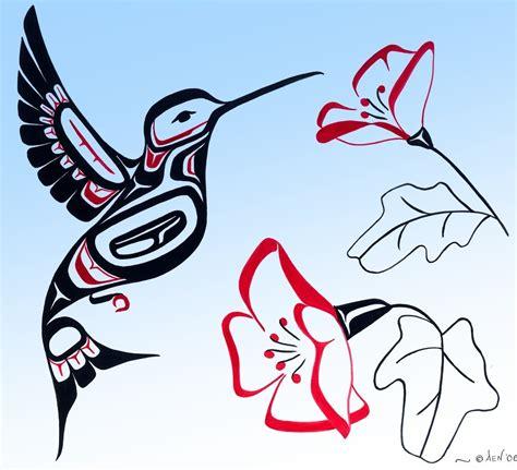 haida native american bird tattoo at last hummingbirds channelling stanley