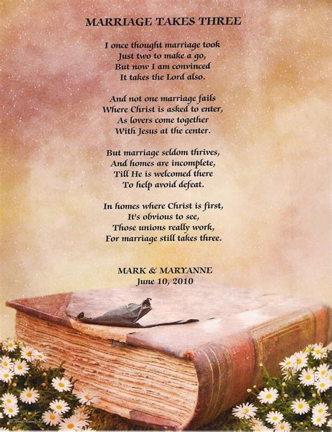 Wedding Bible Poems by Christian Marriage Quotes And Poems Quotesgram