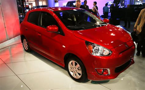 mirage mitsubishi 2014 2014 mitsubishi mirage hatch to get class leading 44 mpg