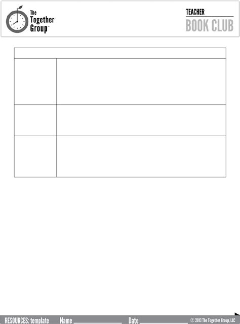 download book club agenda template for free page 2