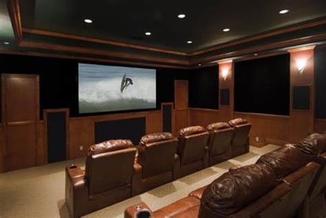 pretty palliser in home theater contemporary with sci fi theatre room lighting lighting ideas