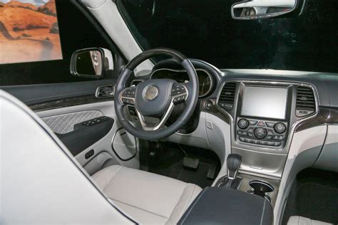 jeep grand cherokee summit interior jeep grand cherokee review and rating motor trend