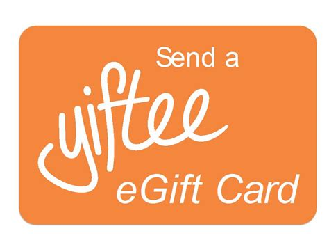 Corporate E Gift Cards - new yiftee tool allows smbs to offer e gift cards