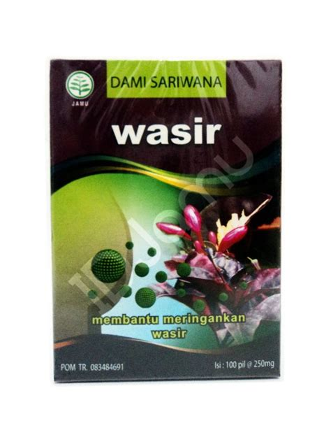Herbal Gensubur jamu herbs wasir helps to treat hemorrhoid