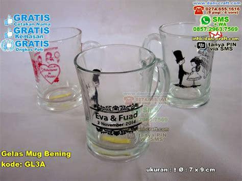 desain mug elegan souvenir gelas murah gelas souvenir souvenir gelas nikah